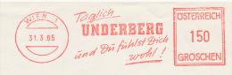Freistempel 5006 Underberg Spirituosen - BRD