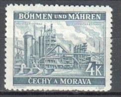 Böhmen Und Mähren 1939 Mi 34** - 1v  - Siehe Scan - Occupation 1938-45