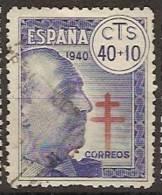 España U 0938 (o) Tuberculosos. 1940 - 1931-Today: 2nd Rep - ... Juan Carlos I