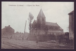 CHATELINEAU - Corbeau - L'Eglise Ste Marie  // - Charleroi