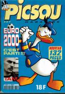 PICSOU MAGAZINE N° 327 De Avril 1999 Spécial Foot Euro 2000 Zidane Anelka Barthez - Picsou Magazine