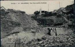 CPA - ALLASSAC - Vue D´une Carrière D´ardoises - Other Municipalities