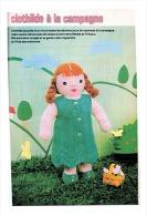 """Fiche Tricot Et Crochet """" Clothilde à La Campagne """" Issue De Mode Et Travaux De Septembre 1978_L91 - Wool"""