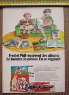 PUB PUBLICITE BI-FI SPIROU FRANQUIN - Collezioni