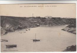 CPA Belle Ile En Mer, Bangor, Le Port De Goulphar (pk13662) - Belle Ile En Mer