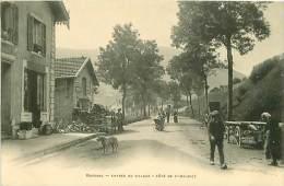 88.BUSSANG.N°47.ENTREE DU VILLAGE.COTE DE ST MAURICE.EPICERIE - Bussang
