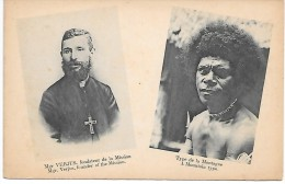 PAPOUASIE - NOUVELLE GUINEE - Missionnaires Du Sacré-Coeur D'Issoudun - Mgr VERJUS - Type De La Montagne - Papouasie-Nouvelle-Guinée