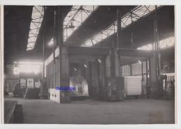 Photo Ancienne - PARIS - Intérieur D'un Garage - Atelier De Peinture - Autobus / Autocar - Automobili