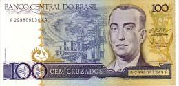 BRESIL   100 Cruzados  Non Daté (1987)  Pick 211 C  Signature 25            ***** BILLET  NEUF ***** - Brésil