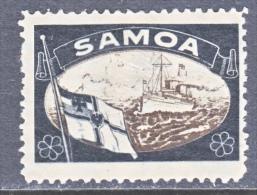 Germany Samoa LOST  COLONIES  LABEL * - Colony: Samoa