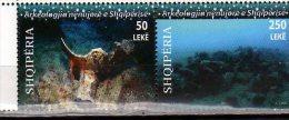 2010 Albania / Albanien -Underwater Archeology - Setenant Set Of 2 V - Paper - MNH** - Archäologie
