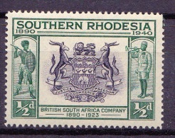 Southern Rhodesia, 1940, SG 53, MNH - Rhodésie Du Sud (...-1964)