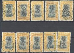 _3L-597: Restje Van 10 Zegels ..i..om Verder Uit Te Zoeken... - Belgisch-Kongo