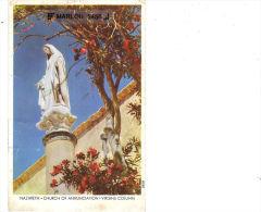 NAZARETH - CHURCH OF ANNUNCIATION - VIRGINS COLUMN - Israel
