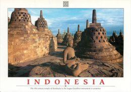 Borobudur Mahayana Buddhist Monument Java Indonesia Postcard - Indonesia
