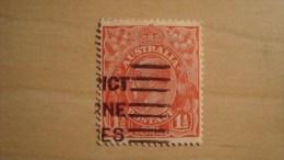 Australia  1926  Scott #68c  Used - 1913-36 George V: Heads