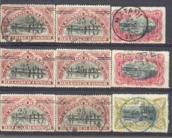 _3L-594: Restje Van 9 Zegels ...om Verder Uit Te Zoeken... - Belgisch-Kongo