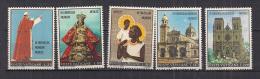 VATICANO     1970        VIAGGIO IN ASIA E AUSTRALIA       SASS. 495-499      MNH    XF - Vaticano