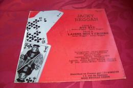 JACKY  REGGAN  ° AUTOGRAPHE SUR 45 TOURS VINYLE  /  BYE BYE - Autographes