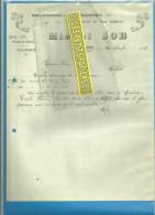 70 - Haute-saône - FAUCOGNEY - JOB - Draperies - Confections - 1909 - 1900 – 1949