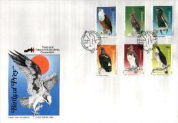 ZIMBABWE, 1984, Mint FDC, Eagles,  Nrs. 297-302 , F655 - Zimbabwe (1980-...)