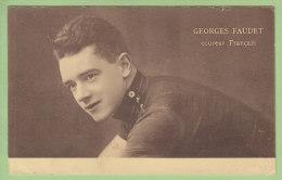 Georges FAUDET, Coureur Français. 2 Scans. Edition Sportkaarten Frank Nels - Cyclisme