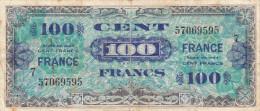 BILLET 100 FRANCS LIBERATION 1944 SERIE 7 - 1945 Verso France