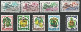 "Guinée YT 43 à 51 "" Nations Unies "" 1961 Neuf** - Guinée (1958-...)"