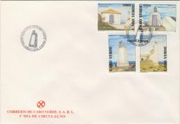 cvFDC14 Cabo Verde 2004 Lighthouse FDC