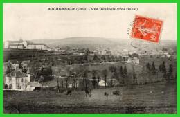 - BOURGANEUF- (Creuse) Vue Générale (côté Ouest) (recto Verso) - Bourganeuf