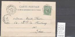 Lettre Cachet Convoyeur Montigny Les Bains à Mirecourt - Postmark Collection (Covers)
