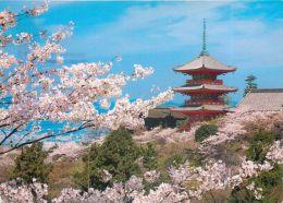 Kiyomizudera Temple, Kyoto, Japan Postcard Used Posted To UK 2006 Stamp - Kyoto