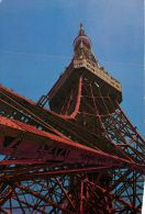 Tokyo Tower, Japan Postcard Used Posted To UK 1960s ? - Tokio