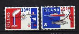 Islande Y&t N°  .719.720.. Neufs - 1944-... Republique