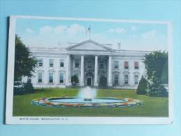 WASHINGTON - WHITE HOUSE - Etats-Unis