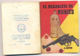 ENCICLOPEDIA PULGA EL BRAZALETE DE RUBIES - Libros, Revistas, Cómics