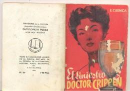 ENCICLOPEDIA PULGA  EL SINIESTRO DOCTOR CRIPPEN - Libros, Revistas, Cómics