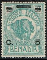 Italia Colonie - SOMALIA  - Sass.74  - NUOVI (*) - Somalia