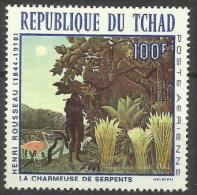Chad - 1968 The Snake Charmer (painting) 100f MLH *   SG 207  Sc C43 - Chad (1960-...)