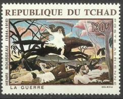 Chad - 1968 The War (painting) 130f MLH *   SG 208  Sc C44 - Chad (1960-...)