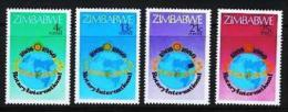 ZIMBABWE 1980, Mint Never Hinged Stamps, Rotary International, Nrs. 242-245, #5071 - Zimbabwe (1980-...)