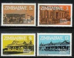 ZIMBABWE 1980, Mint Never Hinged Stamps, Post Savings Bank, Nrs. 247-250, #5073 - Zimbabwe (1980-...)