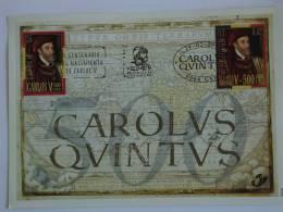 België Belgique Belgium Spanje Espagne Espagna 2000 HK Carte Souvenir 500 Carolus Quintus Karel V 2887HK 2887 - Cartas Commemorativas