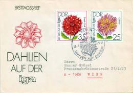 DDR 1979 - FDC 2437+2438 Dahlien Auf Der IGA - [6] Democratic Republic