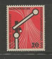GERMANY, 1955,unused, Hinged Stamp(s), Wiesbaden, Conference,nr(s) 219, #12829 - [7] Federal Republic