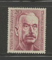 GERMANY, 1956, Unused, Hinged Stamp(s), Thomas Mann ,nr(s) 237, #12902 - [7] Federal Republic