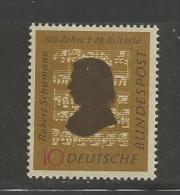 GERMANY, 1956,unused, Hinged Stamp(s), Robert Schumann ,nr(s) 234, #12849 - [7] Federal Republic