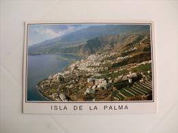 Postcard/Postal - Isla De La Palma - Santa Cruz De La Palma - Vista Aérea - La Palma