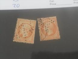 LOT 199115 TIMBRE DE FRANCE OBLITERE N�23 VALEUR 20 EUROS