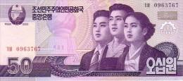 COREE DU NORD   50 Won  Daté De 2002   Pick 42 X      ***** BILLET  NEUF ***** - Korea (Nord-)